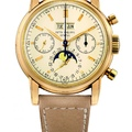 Lot 368_Patek Philippe.very rare possibly unique pink gold perpetual calendar chronograph with moonphases_ref2499
