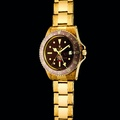 Lot 38_Rolex.very rare yellow gold dual time with sweep centre seconds, date in Arabic and bracelet_ref 1675