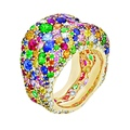 FABERGÉ JEWELLERY_Emotion collection_High Res Images_Fabergé Emotion Multi-coloured Ring
