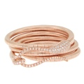 dada arrigoni_elika collection_elika tubogas bracelet in 750 rose gold with diamonds