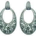 2.2 DA10303 020101 Jazmín Earrings in White Gold with Diamonds